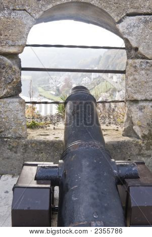 Cannon In Chateau Boullion