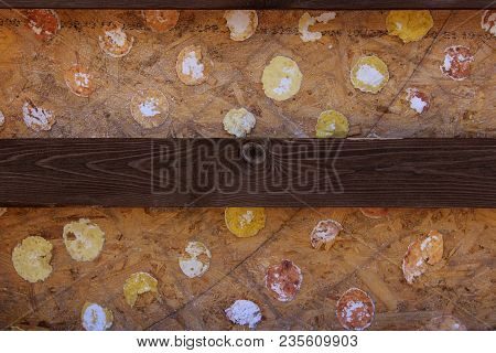 Close-up Shot Of Multicolored Wooden Wall. Wooden Texture. Wooden Background.wooden Texture Backgrou