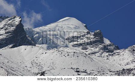 Baden Powell Peak, Mountain Of The Langtang Himal, Nepal.