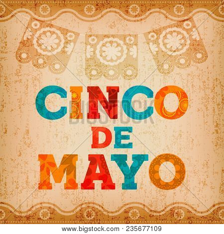 Cinco De Mayo Mexican Holiday Quote Greeting Card