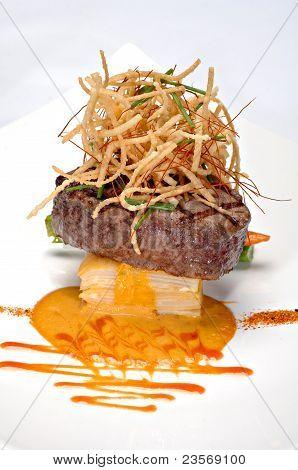 Plated Filet Mignon