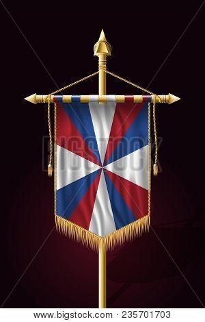 Dutch Flag The Prinsengeus. Festive Vertical Banner. Wall Hangings