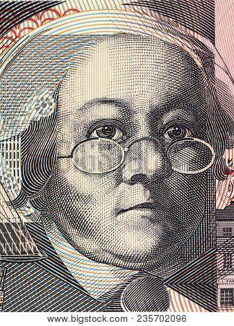 Mary Reibey Portrait From Australian Money - Dollar
