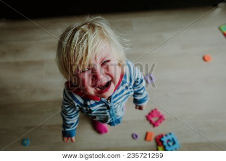 Crying Child, Stress, Pain Sadness Despair Lonely Kid