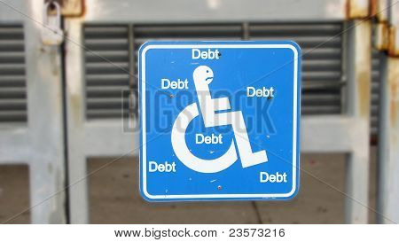 handicapped by debt