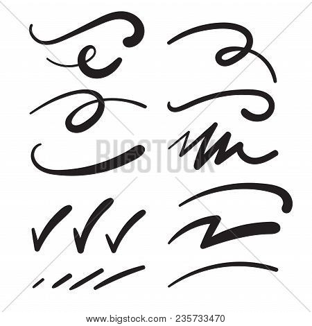 Swishes, Swashes, Swoops, Swooshes, Scribbles, And Squiggles - Typography Emphasis