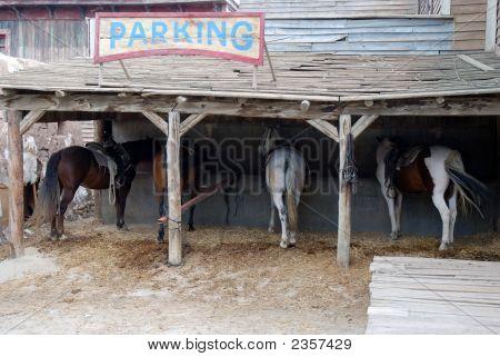 Horse Parking Place
