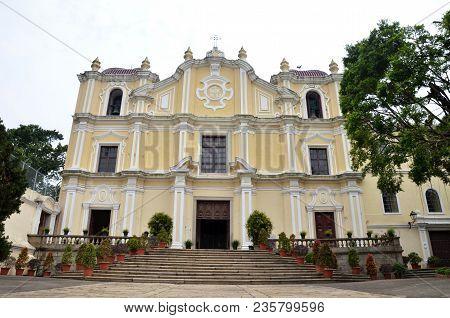 St. Joseph's Seminary And Church At Macau