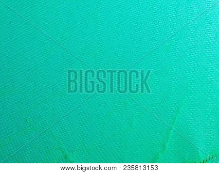 Green Fabric Texture Or Green Fabric Background