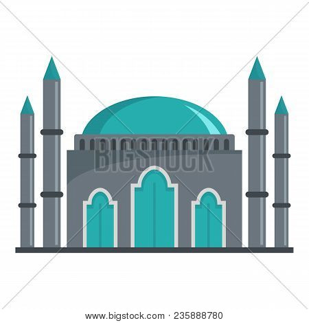 Muslim Icon. Flat Illustration Of Muslim Vector Icon For Web