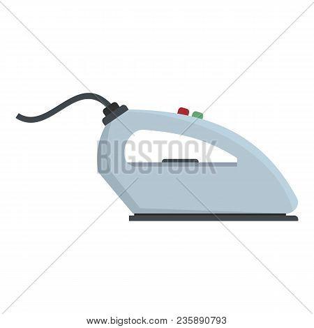 Iron Icon. Flat Illustration Of Iron Vector Icon For Web