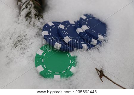 Some Hazard Player Throw To Snow A Few Jettons From Casino