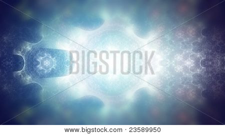 Natural gas, blue abstract background