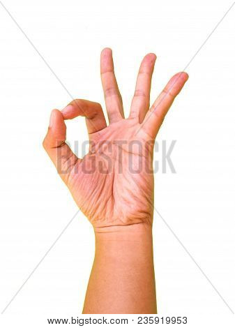 Hand Gesture, Agree Or Okay, Body Language Photography