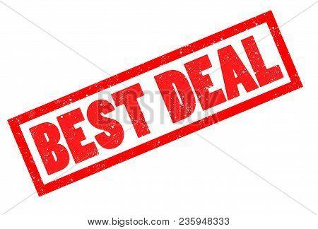 Best Deal Stamp Sign. Best Deal Grunge Rubber Stamp On White Background.