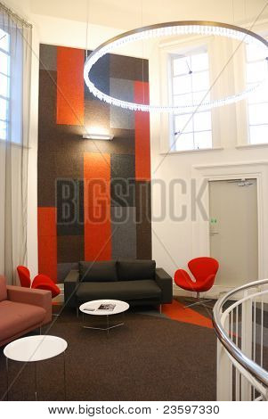 stylish interior design in office