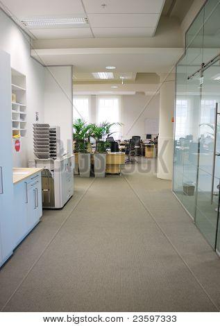 hallway in office