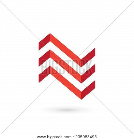 Letter N House Logo Icon Design Template