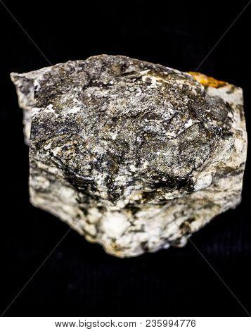 Geology Natural Precious Stone Gold Texture Closeup Vertical