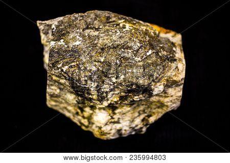 Geology Natural Precious Stone Gold Texture Closeup