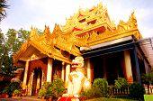 Dhammikarama Burmese Buddhist Temple in Penang Malaysia poster
