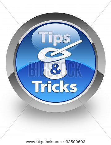 Tips & Tricks glossy icon