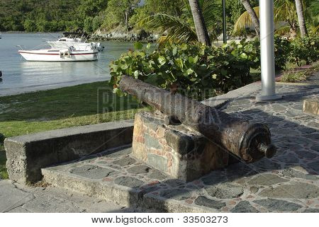 Cannon in the Caribbean
