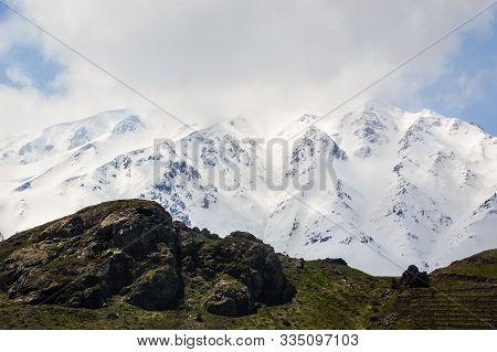 Mount Artos (turkish: Çadır Dağı), A Dormant Volcano In Van Province In Eastern Turkey.