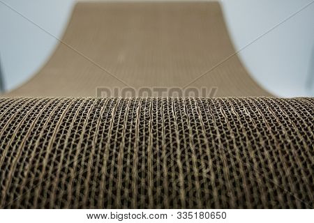 Brown Cat Scratcher Background Pattern Abstract Theme