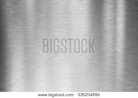 Steel metal or aluminum brushed texture