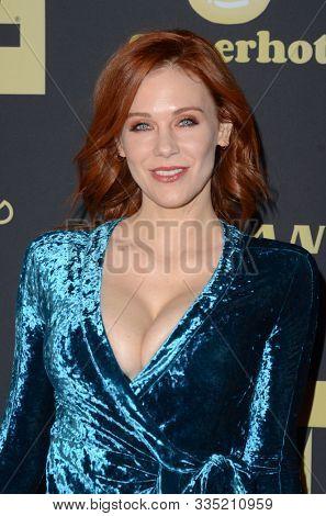 LOS ANGELES - NOV 20:  Maitland Ward at the XBIZ Nominations Gala at the W Hollywood Hotel on November 20, 2019 in Los Angeles, CA