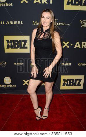 LOS ANGELES - NOV 20:  Tanya Tate at the XBIZ Nominations Gala at the W Hollywood Hotel on November 20, 2019 in Los Angeles, CA