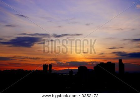 Sunrise Cityscape