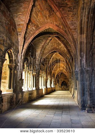 Cloister of Lisbon cathedral