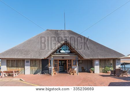 Machadodorp, South Africa - May 22, 2019: Millys Country Trout Stall Next To Road N4 Near Machadodor