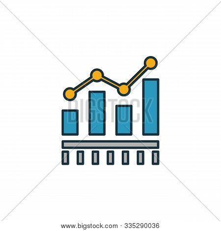 Benchmarking Icon. Outline Filled Creative Elemet From Business Management Icons Collection. Premium