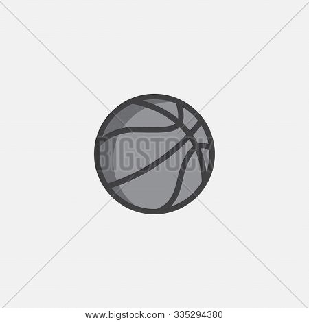 Simple Element Illustration From Basketball, Basketball Ball Sign Icon Symbol Design, Basketball Bal