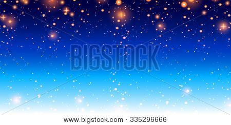 Deep Space. Star Field Background . Starry Outer Space Background Texture . Colorful Starry Night Sk