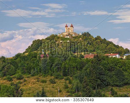 Calvary On Scharffenberg Hill In Banska Stiavnica, Slovakia
