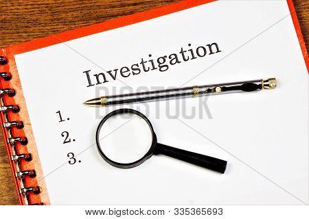 Investigation-a Scientific Method Of Study, The Search For New Knowledge, The Purpose Of Establishin