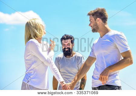 forever love. love triangle. Social problem. Betrayal and divorce. relationship problems. family psychology. couple in love. third wheel man. interpersonal relationship. conversation behind poster