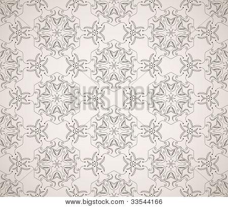 Seamless ornamental ethnicity pattern