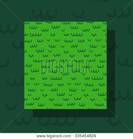 Funny Reptile Skin Seamless Pattern. Doodle Style. Repeatable. Use It For Backdrop, Wrapping Paper,