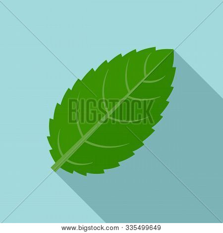 Peppermint Icon. Flat Illustration Of Peppermint Vector Icon For Web Design