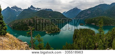 North Cascades National Park Is A Remote, Rugged Wilderness In The North Cascades Mountain Range Of