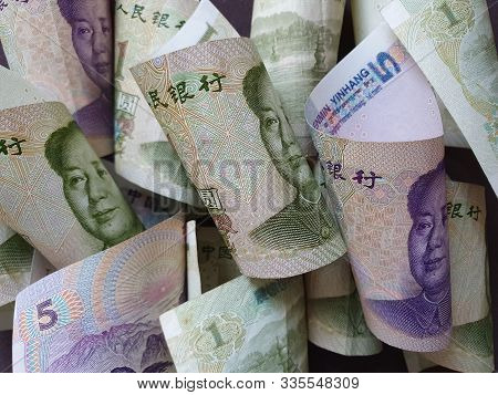Approach To Chinese Banknotes Of Different Denominations Unorganized