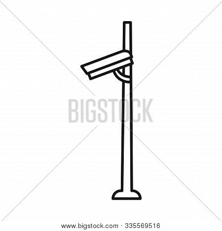 Vector Illustration Of Camcorder And Camera Symbol. Web Element Of Camcorder And Equipment Vector Ic