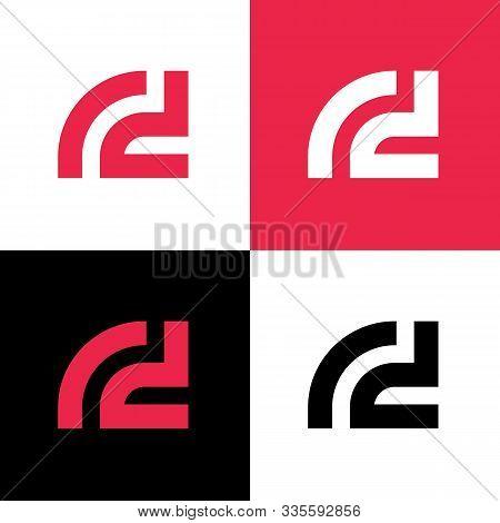 Initial Letter Rd Logo Design Template Elements, Vector Illustration Design