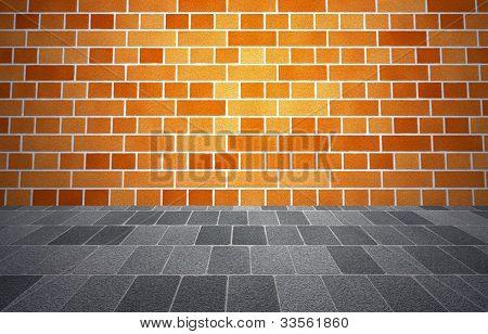 brickwall sidewalk