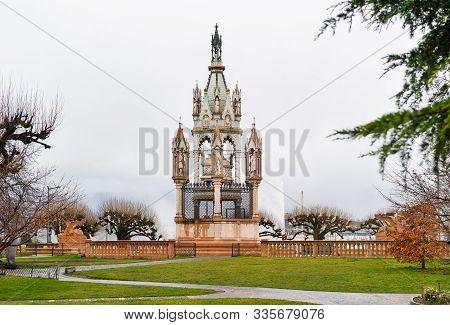 Brunswick Monument Near Geneva Lake In Geneva, Switzerland